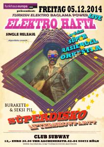 Elektro Hafız Release Konzert